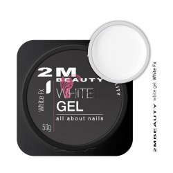 Gel UV 2M Beauty pentru french - UltraWhite Fx 30 gr