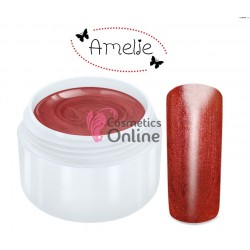 Gel UV Amelie color rubin metalic 5ml