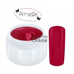 Gel UV Amelie color mat Dark Red 5ml