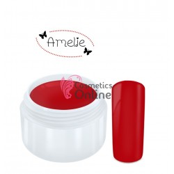 Gel UV Amelie color mat rosu 5ml