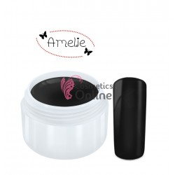 Gel UV Amelie color mat negru 5ml