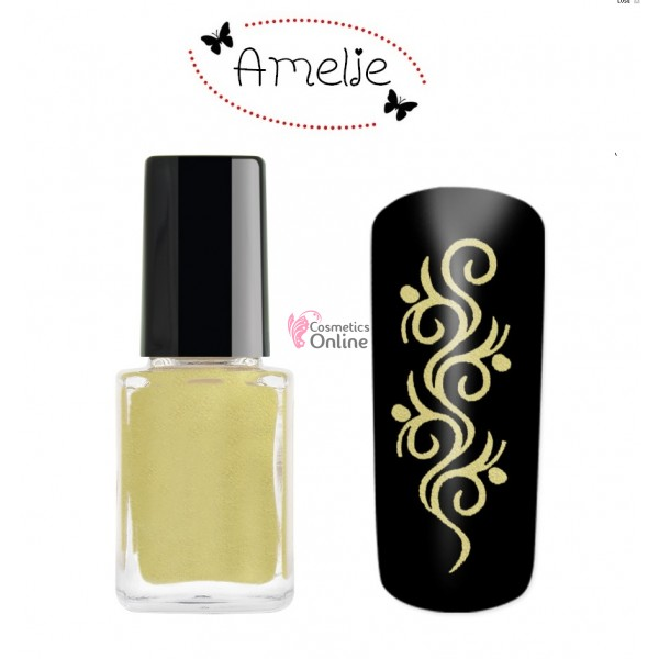 Oja de matrita Amelie aurie Shiny Gold 12ml
