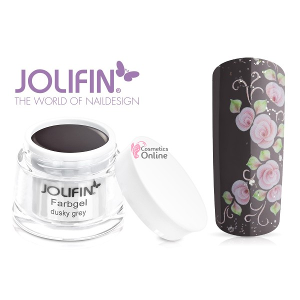 Gel UV Jolifin color Dusky Grey 5 ml