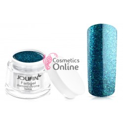 Gel UV Jolifin Diamond Chrome Turcoaz 5 ml