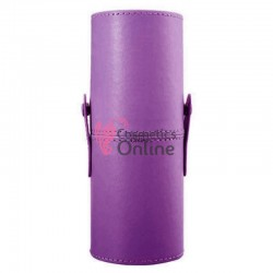 Suport pentru pensule de make-up rotund Purple