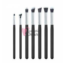 Pensule de Make-up  7 buc Negre Profesionale P7