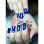 Gel UV Amelie color perlat sidefat Albastru Indigo 5ml