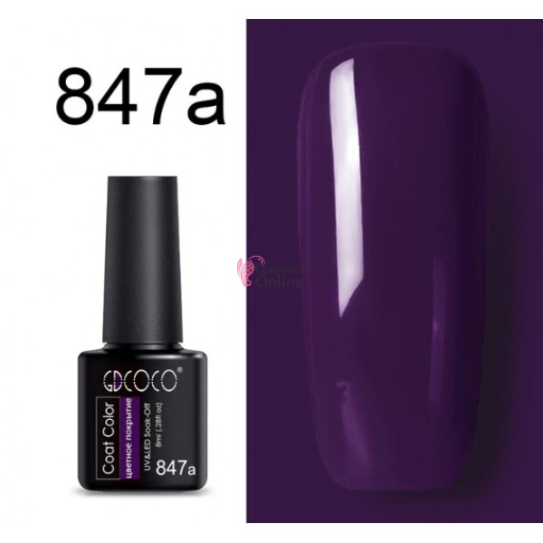 Oja Semipermanenta GDCOCO UV / LED de 8ml Cod 847a Ametist