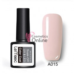 Oja semipermanenta LeMooc color UV / LED de 8 ml Cod A015 Blush Pink