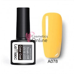 Oja semipermanenta LeMooc color UV / LED de 8 ml Cod A078 Primary Yellow