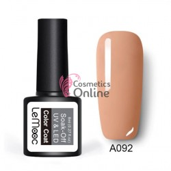 Oja semipermanenta LeMooc color UV / LED de 8 ml Cod A092 Cream Blush