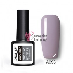 Oja semipermanenta LeMooc color UV / LED de 8 ml Cod A093 Lila