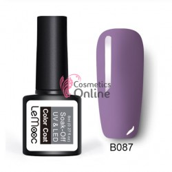 Oja semipermanenta LeMooc color UV / LED de 8 ml Cod B087 Violet