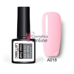 Oja semipermanenta LeMooc color UV / LED de 8 ml Cod A018 Baby Pink