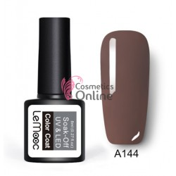 Oja semipermanenta LeMooc color UV / LED de 8 ml Cod A144 Iced Mocha