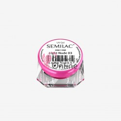 Gel uv Semilac Only One Light Nude 5 ml