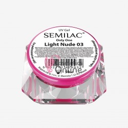 Gel uv Semilac Only One Light Nude 50 ml