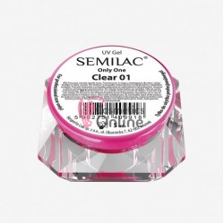 Gel uv Semilac Only One 3 in 1 Transparent Vascos 5 ml