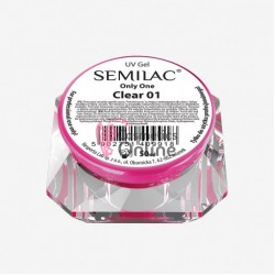 Gel uv Semilac Only One 3 in 1 Transparent Vascos 50 ml