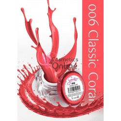 Gel uv Semilac Geltaq color 006 rosu Classic Coral 5 ml
