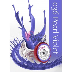 Gel uv Semilac Geltaq color 036 mov Pearl Violet 5 ml