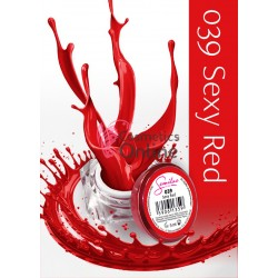 Gel uv Semilac Geltaq color 039 Rosu Sexy Red 5 ml