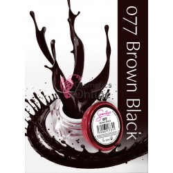 Gel uv Semilac Geltaq color 077 maro Brown Black 5 ml