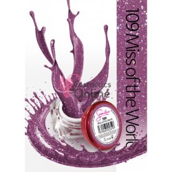 Gel uv Semilac Geltaq color 109 Lila Miss of the World 5 ml