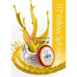 Gel uv Semilac Geltaq color 117 galben Yellow Sphinx 5 ml