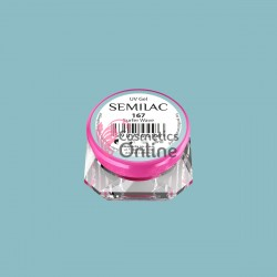 Gel uv Semilac Geltaq color 167 albastru Surfer Wave 5 ml