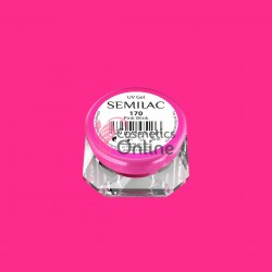 Gel uv Semilac Geltaq color 170 roz fucsia Pink Wink 5 ml
