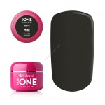 Gel UV Base One Silcare color MAT Black Night 5ml
