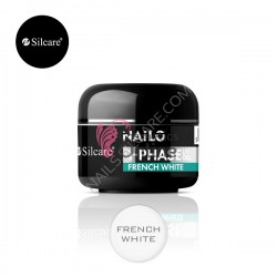 Gel UV Nailo (Basic) Silcare 3 in 1 alb French 5 ml