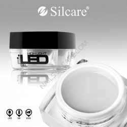 Gel UV Silcare 3 in 1 Transparent 4 ml - LED