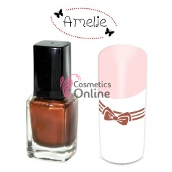 Oja de matrita Amelie Aramie Metallic Copper 12ml