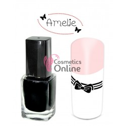 Oja de matrita Amelie Neagra Night Black 12ml