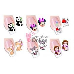 Stickere unghii nail art