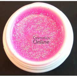 Gel UV Amelie color Viva la Pink Glitter 15ml