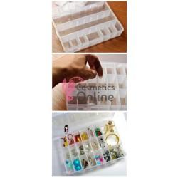 Cutie compartimentata pentru accesorii CA009 cu 24 lacasuri