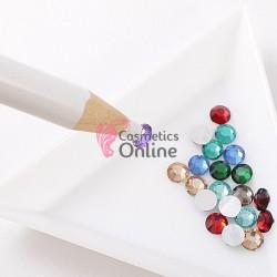 Creion cu tavita Alba pentru strasuri TC01