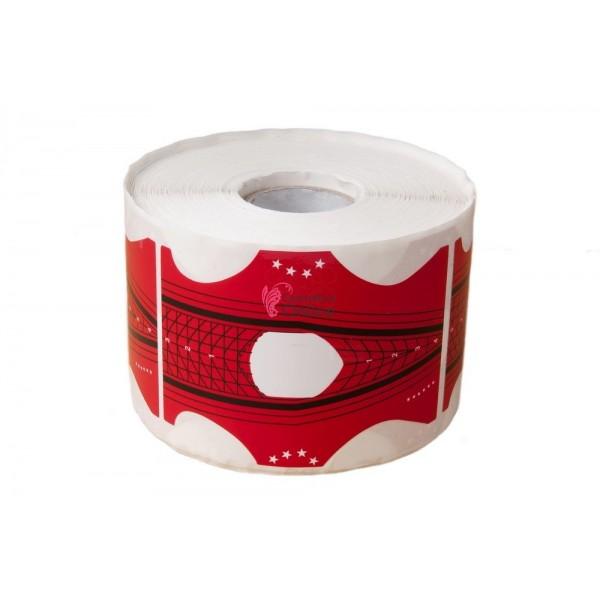 Sabloane pentru unghii SB029 Stiletto 100 bucati Red