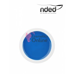 Gel UV NDED Colorat Albastru Neon de 5 ml, art. 2622