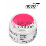 Gel UV NDED Colorat Roz Neon de 5 ml, art.2625