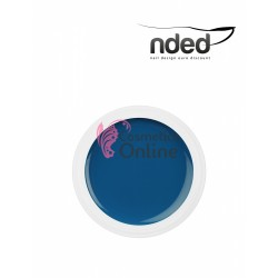 Gel UV NDED Colorat Cyan intens de 5 ml, art. 2329