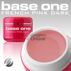 Gel UV Base One Silcare 3 in 1 French Pink Dark  5 ml