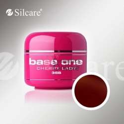 Gel UV Base One Silcare color Cherry Lady 5ml