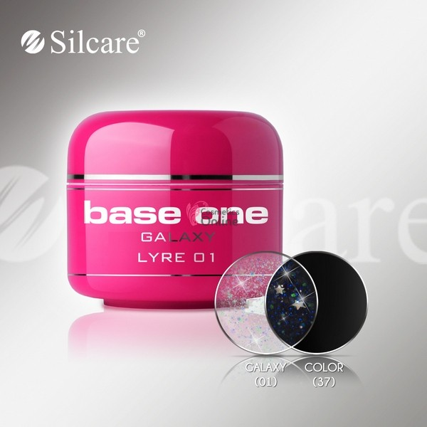 Gel UV Base One Silcare color Galaxy Lyre 5ml