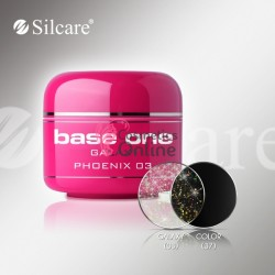 Gel UV Base One Silcare color Galaxy Phoenix 5ml