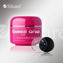 Gel UV Base One Silcare color Galaxy Unicorn 5ml