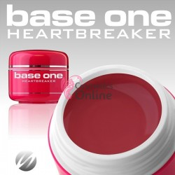 Gel UV Base One Silcare color rosu Heartbreaker 5ml